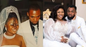 Queen Ciara Antwi and husband, Rev Obofour