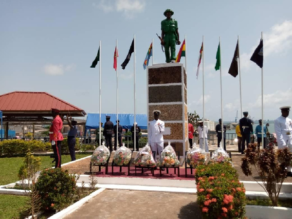 Western Region observes 75th Remembrance Day for Veterans