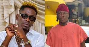 Dancehall artistes, Shatta Wale and Stonebwoy