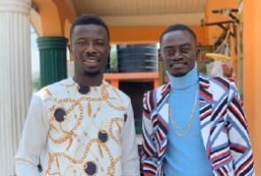 Kumawood actors Lilwin and Kwaku Manu