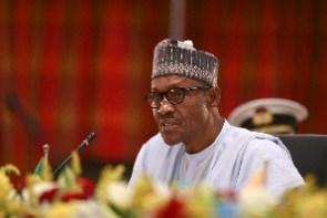 Nigeria's president, Muhammadu Buhari