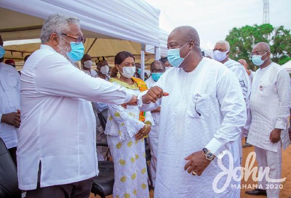 Rawlings ended coup d'etats in Ghana – Mahama