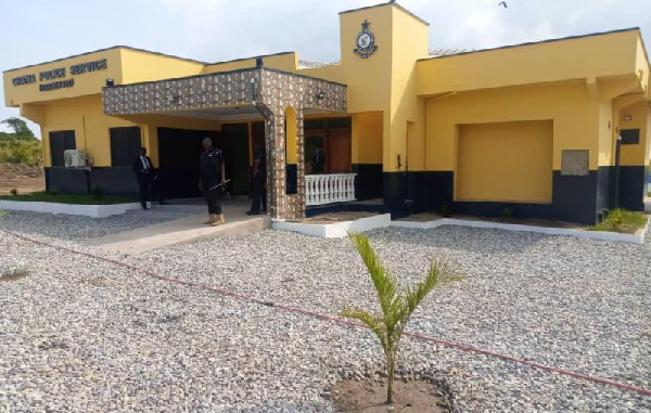 IGP commissions elevated Effutu Police Station