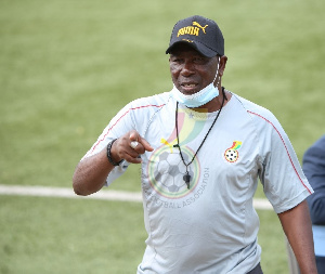 Black Satellites Head Coach, Abdul Karim Zit