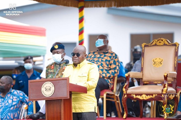 If I've not disappointed you, give me four more – Akufo-Addo begs Ghanaians