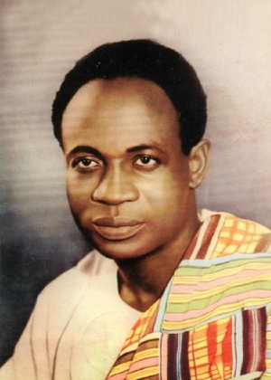 Osagyefo Dr. Kwame Nkrumah, Ex-Head of State: 1957 - 1966