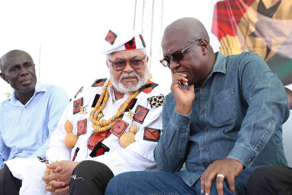 NDC begins Rawlings\'s funeral immediately; holds vigil Sunday