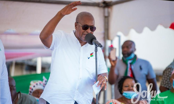 Akufo-Addo\'s thirst for power outweighs his love for Ghana - Mahama