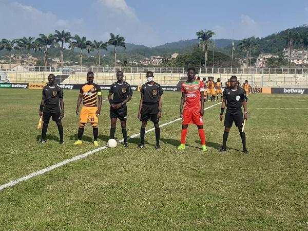 2020/21 Ghana Premier League: Week 1 Match Report — AshantiGold 2-2 Karela  United