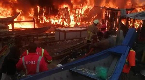 Four children burnt to death at Spintex