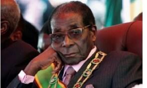 Zimbabwe's former leader, Robert Mugabe