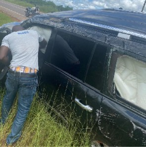 David Asante's vehicle was involved in an accident on the Walewale-Nalerigu road