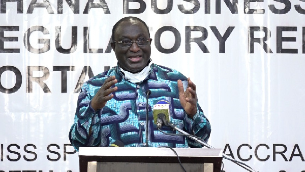 Trade Minister commissions Business Resource Centre in Agona West