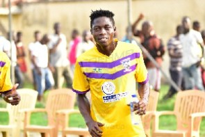 Medeama SC midfielder, Justice Blay