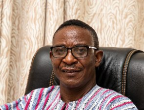 Samuel Tetteh Korboe, outgoing Chair of the Audit Committee, ISD
