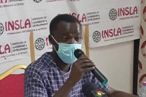 Benjamin Anabila, the Director of INSLA