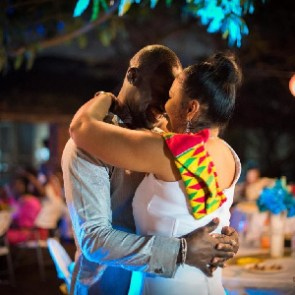 Chris Attoh and his late wife, Bettie Jenifer