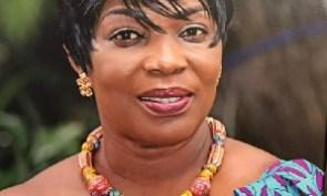 Former MP for Okaikwei North, Elizabeth K. Sackey