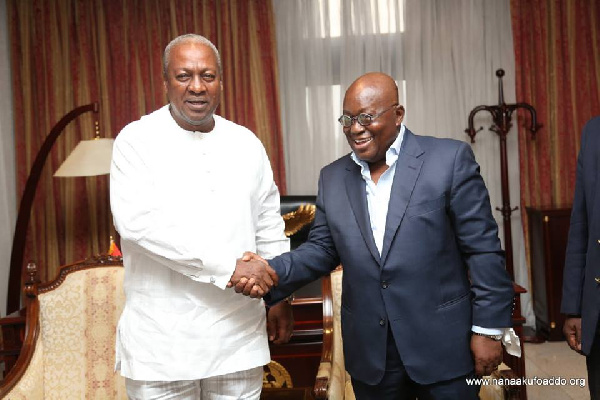 Akufo-Addo will soon retire you from active politics - Mahama told