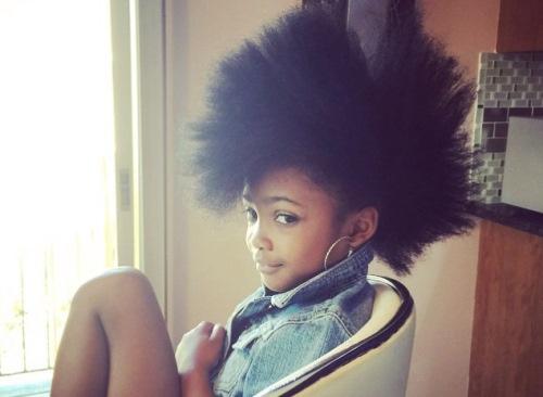 8 Kids On Social Media With Incredible Natural Hair Photos