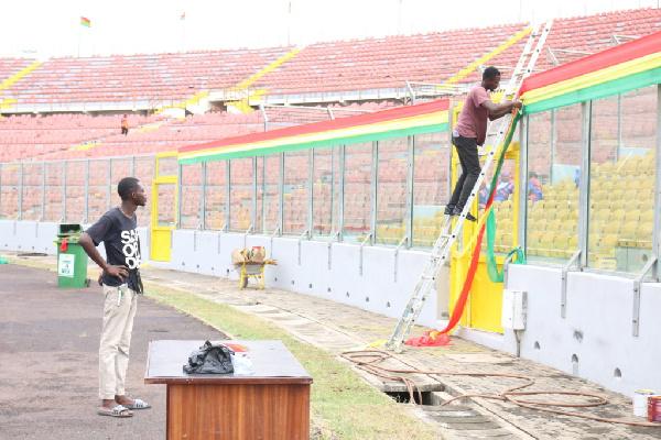 Renovation works at Baba Yara Stadium is high quality - NSA boss