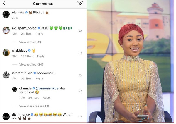 Wizkid & Olamide reacts to Akuapem Poloo's video blasting TV3 4