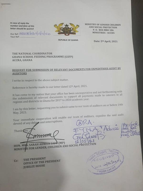 Revealed: Why Adwoa Safo fired School Feeding program boss. 49