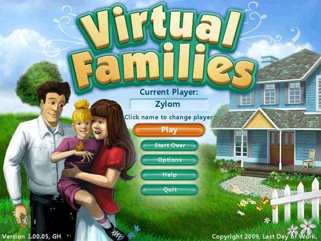 Virtual Families  Gamehouse
