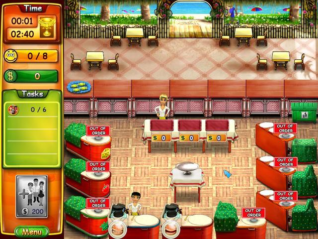 Fast Food Restaurant Games Online