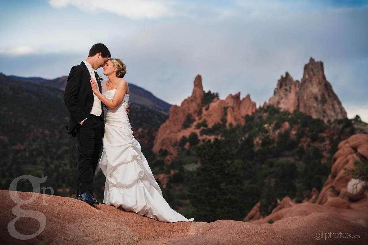 Allison  Scotts Craftwood Inn Wedding in Manitou Springs