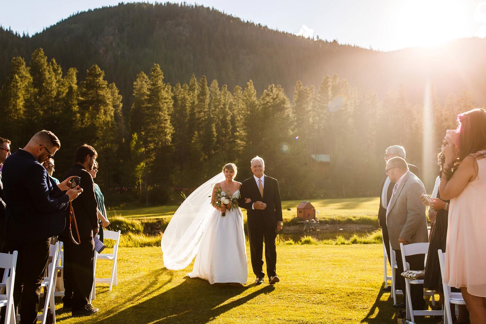 Mark Amp Kates Beautiful Camp Hale Wedding In Vail Colorado