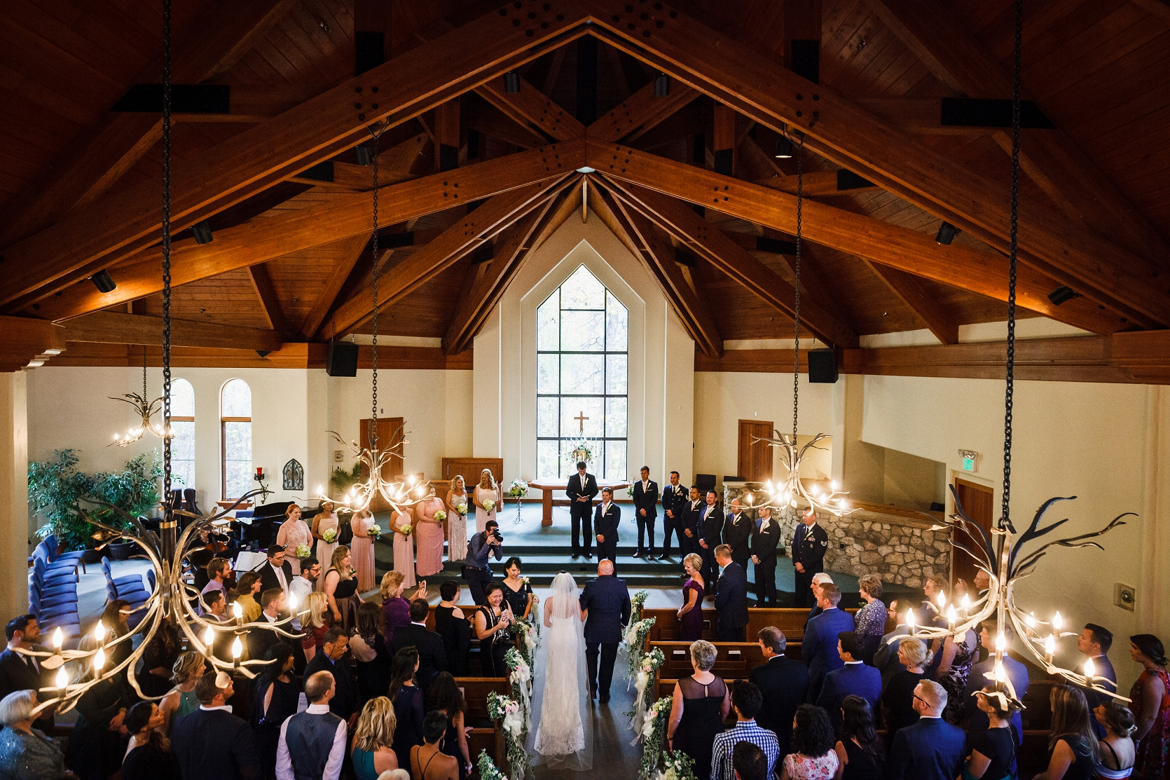 Travis  Sheryls Beaver Creek Chapel Wedding  Top Colorado Mountain Wedding Photographers