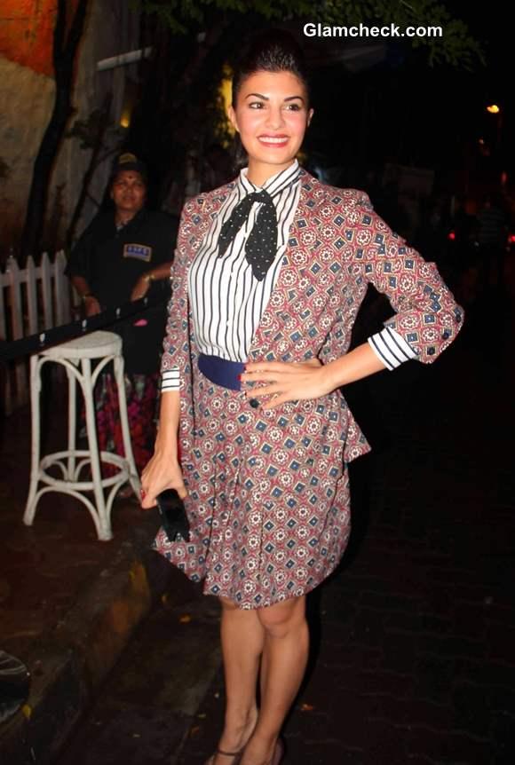 Jacqueline Fernandes Attends Bombay Street Style Party 2013