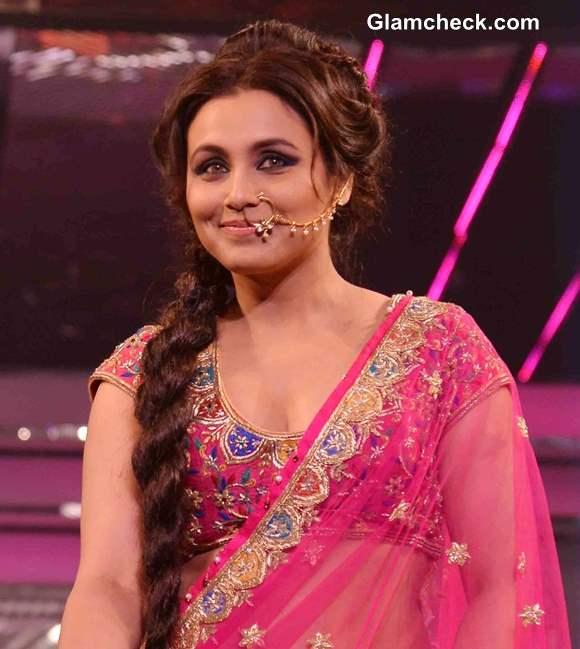 Rani Mukherjee Walks The Ramp In Pink Lehenga For Late