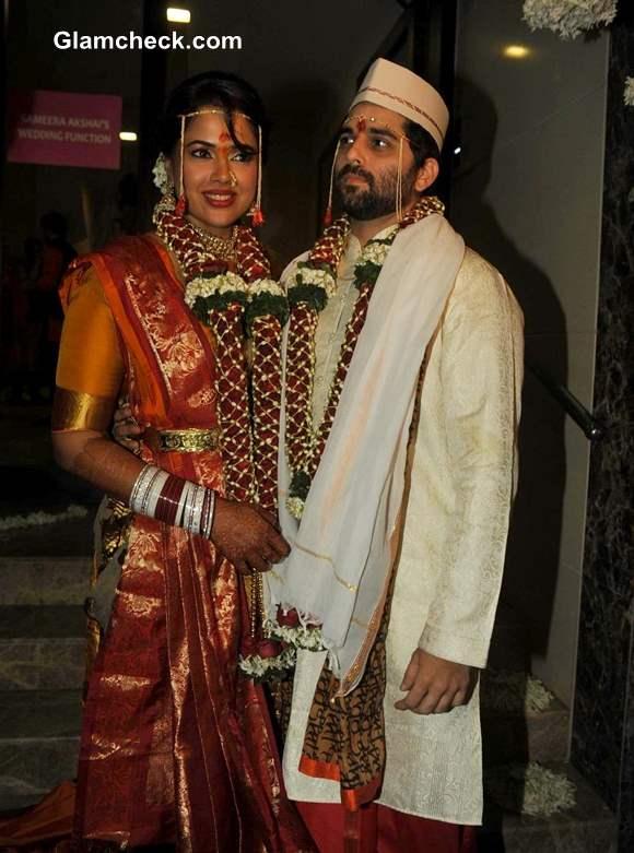 Sameera Reddy Marries Akshai Varde