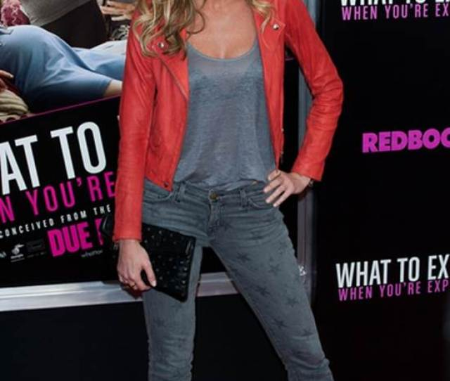 Erin Andrews Edgy Sexy Leather Look For Nyc Premiere
