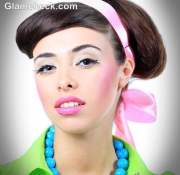 retro hairstyles and makeup