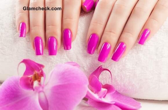 Pink Nails  Various shades of Pink Nail Polish