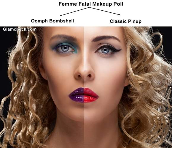 Femme Fatal Makeup Poll Oomph Bombshell VS Classic Pinup