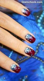 nail art ideas christmas