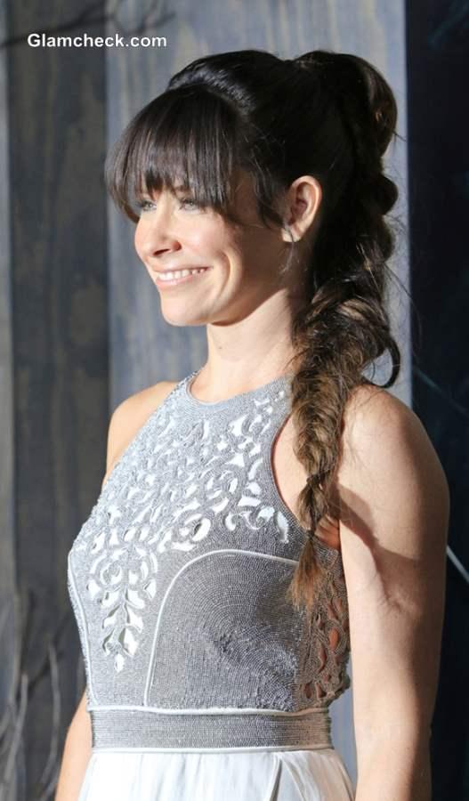 Evangeline Lillys High Ponytail Braid