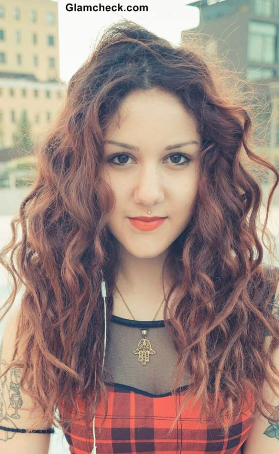 Glam Grunge Hairstyle Ideas