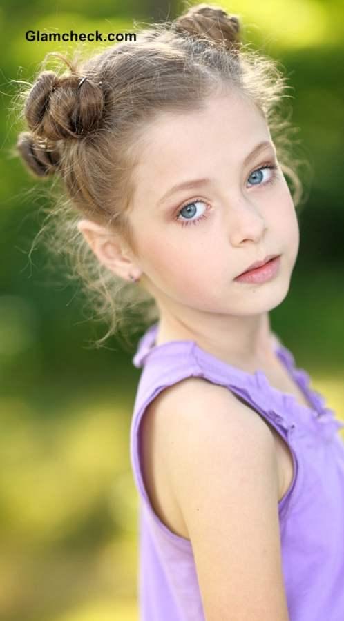 Hairstyles For Little Girls Multiple Mini Buns