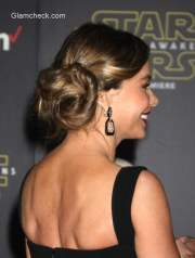 sofia vergara princess leia inspired