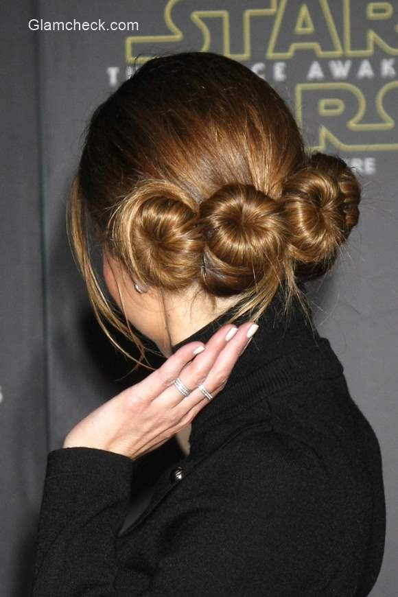 Maria Menounoss Princess Leia Inspired Hairstyle