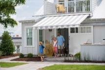 Black And White Striped Awning Cm91 Roccommunity
