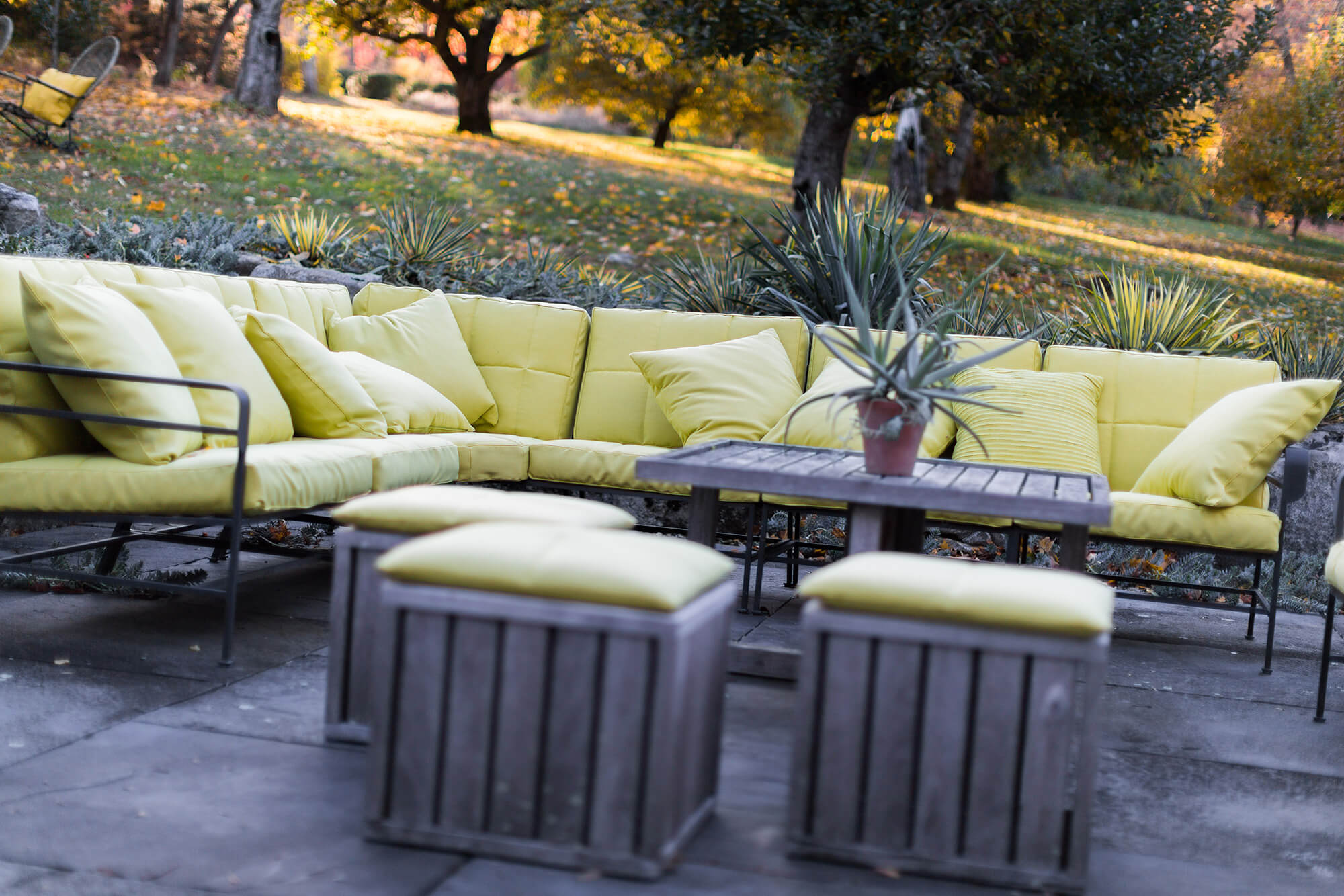 best fabrics for chairs diy chair covers folding the home indoor outdoor sunbrella sofa on patio featuring cushions with green fabric
