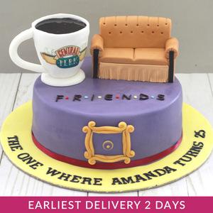 Friends Theme Cake Buy Cakes In Dubai Uae Gifts