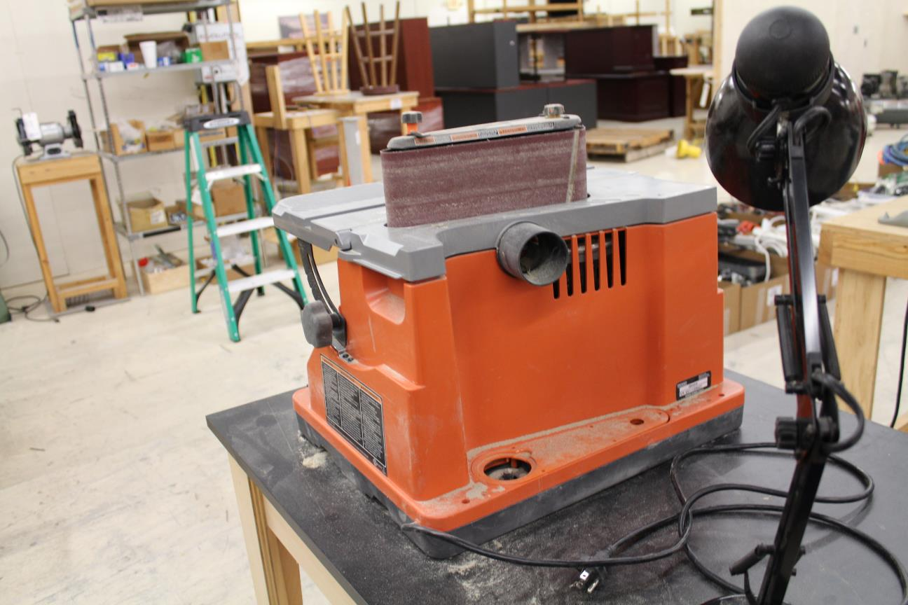 Ridgid Oscillating Edgebelt Spindle Sander