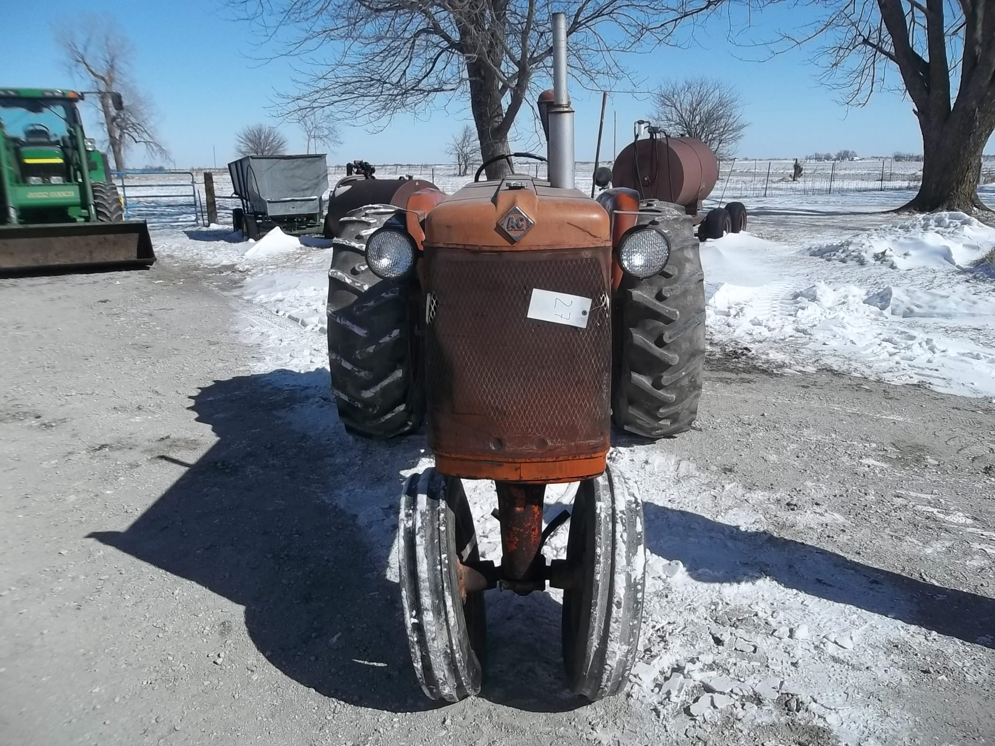 Ca Allis Chalmers 3pt Hitch